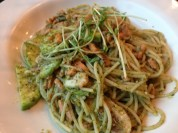 My noodle dish... at Spaghetti 360.