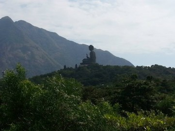 Big buddha, view from afar.
