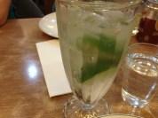 My favorite, lime soda...
