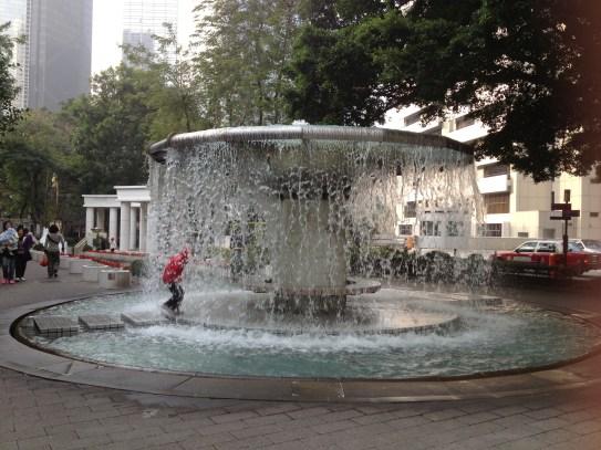 Walk through THIS fountain!