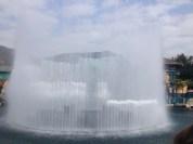 Ocean Park's main fountain.