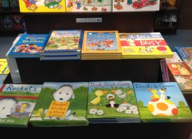 Happy to see some familiar, friendly books!