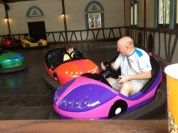 Bumper Cars, irresistible for my guys.