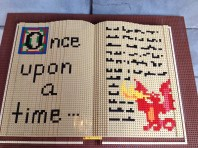 Of course I loved the lego book...