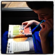 Minibus Ride: Minecraft book can be absorbing...