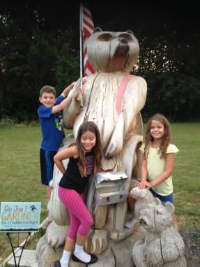 Hi carved bear!