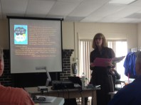 Author talk with Pamela Smith Hill about romance.