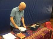 Author visit with Nick Toczek- fantastic presence