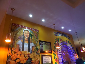 Mexican restaurant for dinner