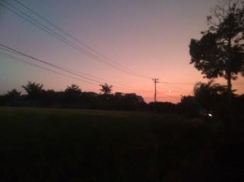 Enjoyed the sunset