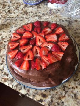 Doesn't my sister make a beautiful cake?