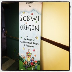 Enjoyed meeting Oregon SCBWI people, do miss my Hong Kong SCBWI group though.