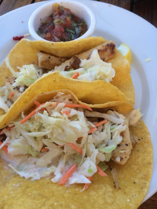 I loved the fish tacos though!
