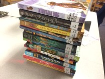 So grateful for a book grant for my school!