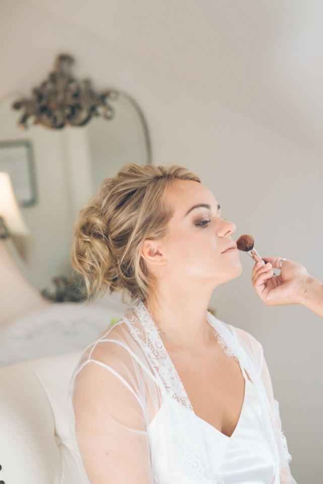 wedding hair & makeup at the styling lounge | bristol