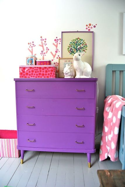 The Styling Mama_Purple Kids Room Ideas