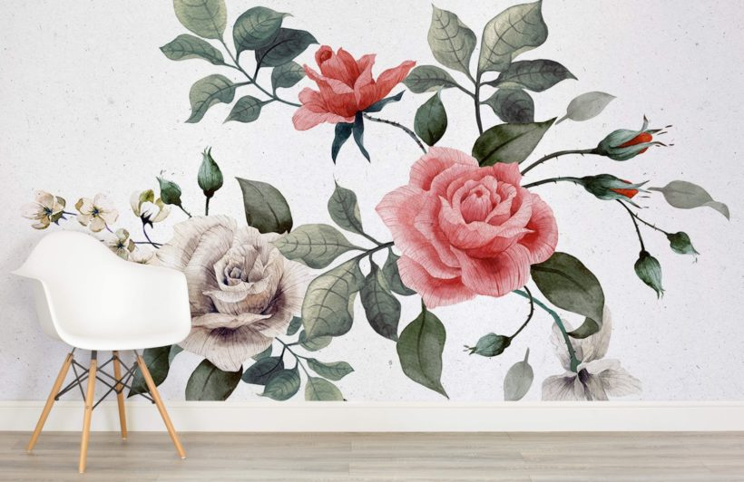 how do you decorate with wallpaper