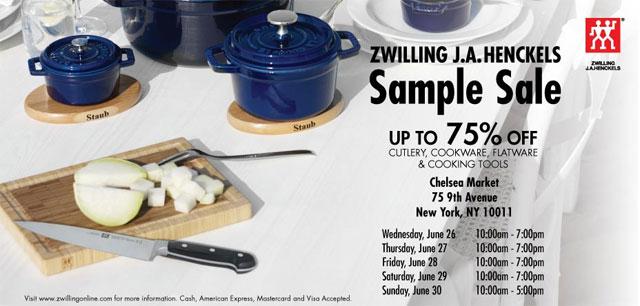 Sample Sale NYC