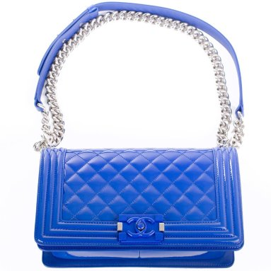 Chanel Blue Bag