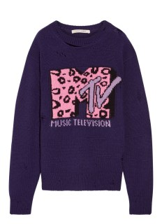 Marc Jacobs cool and cashmere-blend sweater