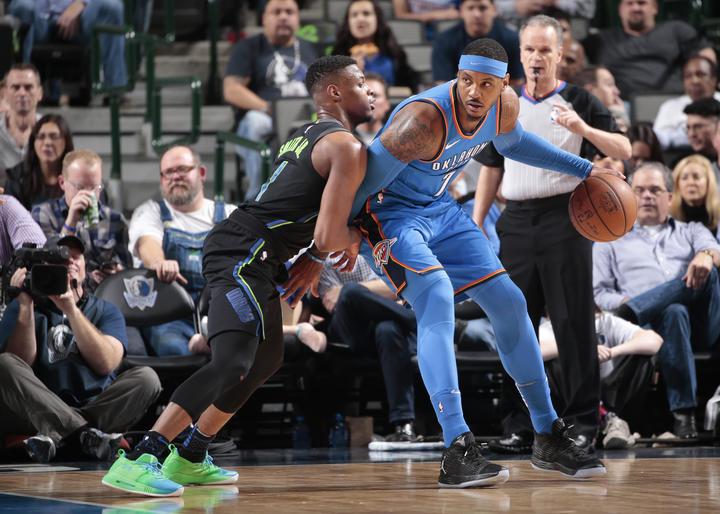 Oklahoma City Thunder v Dallas Mavericks