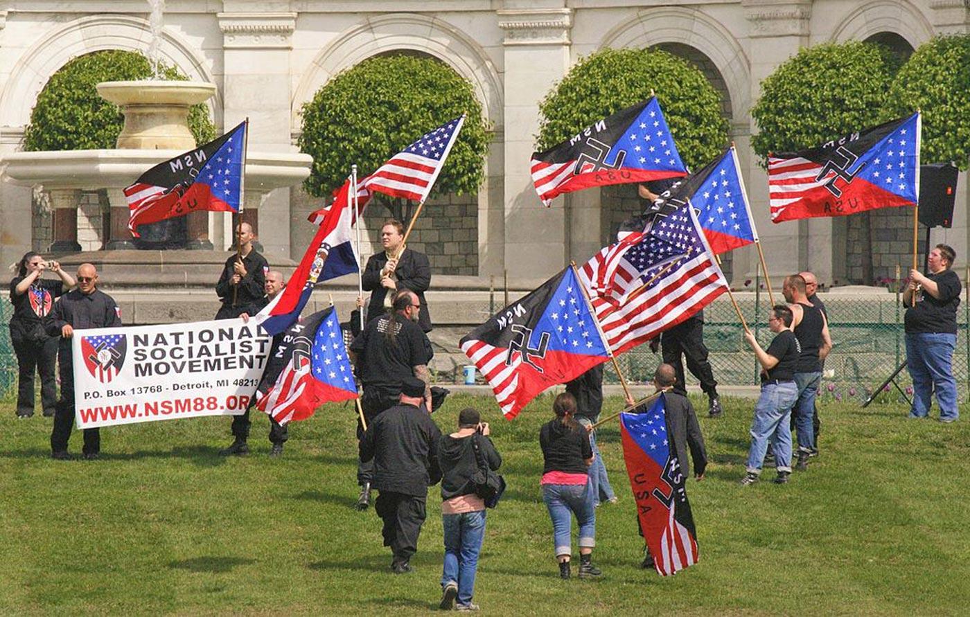 """Io li odio, i nazisti di Washington, D.C."""