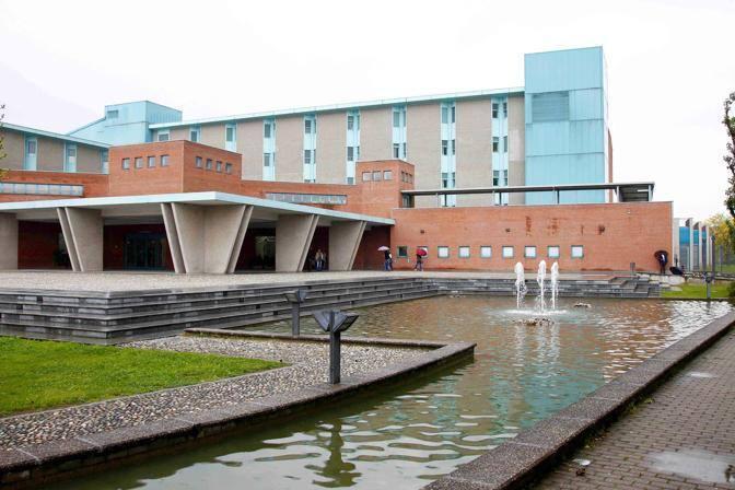 La sede della Fondazione Maugeri - Ospedale di Pavia -
