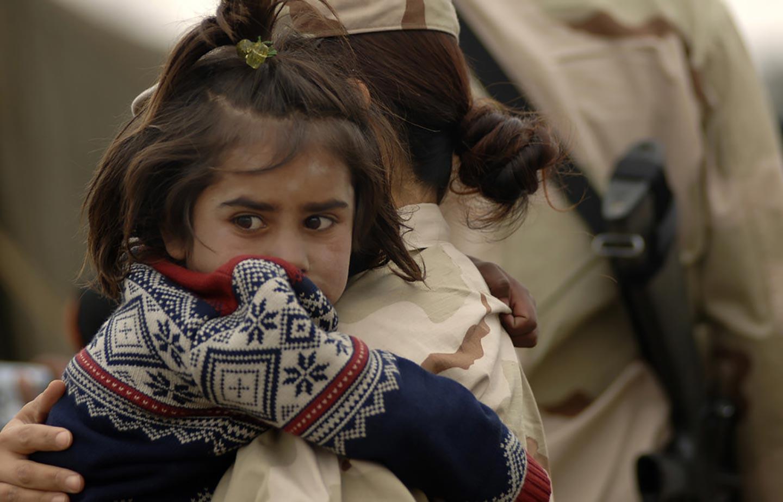 I bambini migranti vanno trattati come veterani di guerra