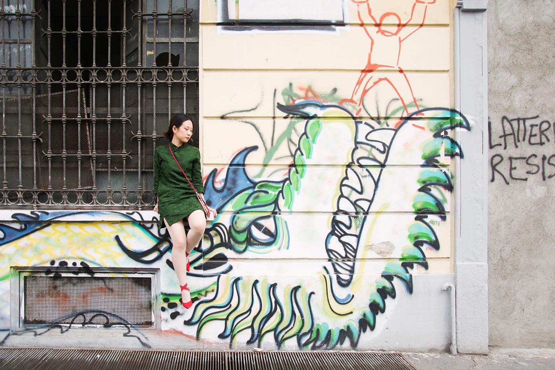 La cultura dei migranti sui muri di Milano