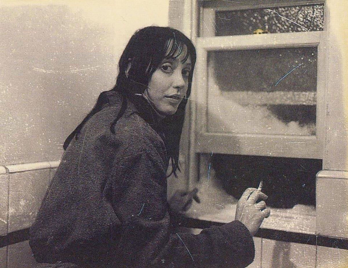 Shelley Duvall interpretava la moglie di Nicholson, la celebre Wendy