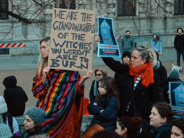 La Women's March torna anche a Milano