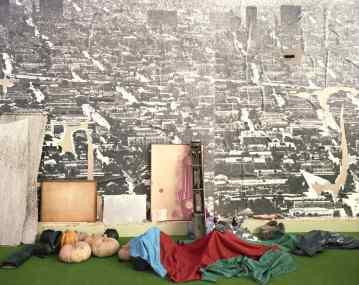 """l progetto domestico, XVII Triennale di Milano, 1986. OMA, """"Body-building home: la casa palestra"""""""