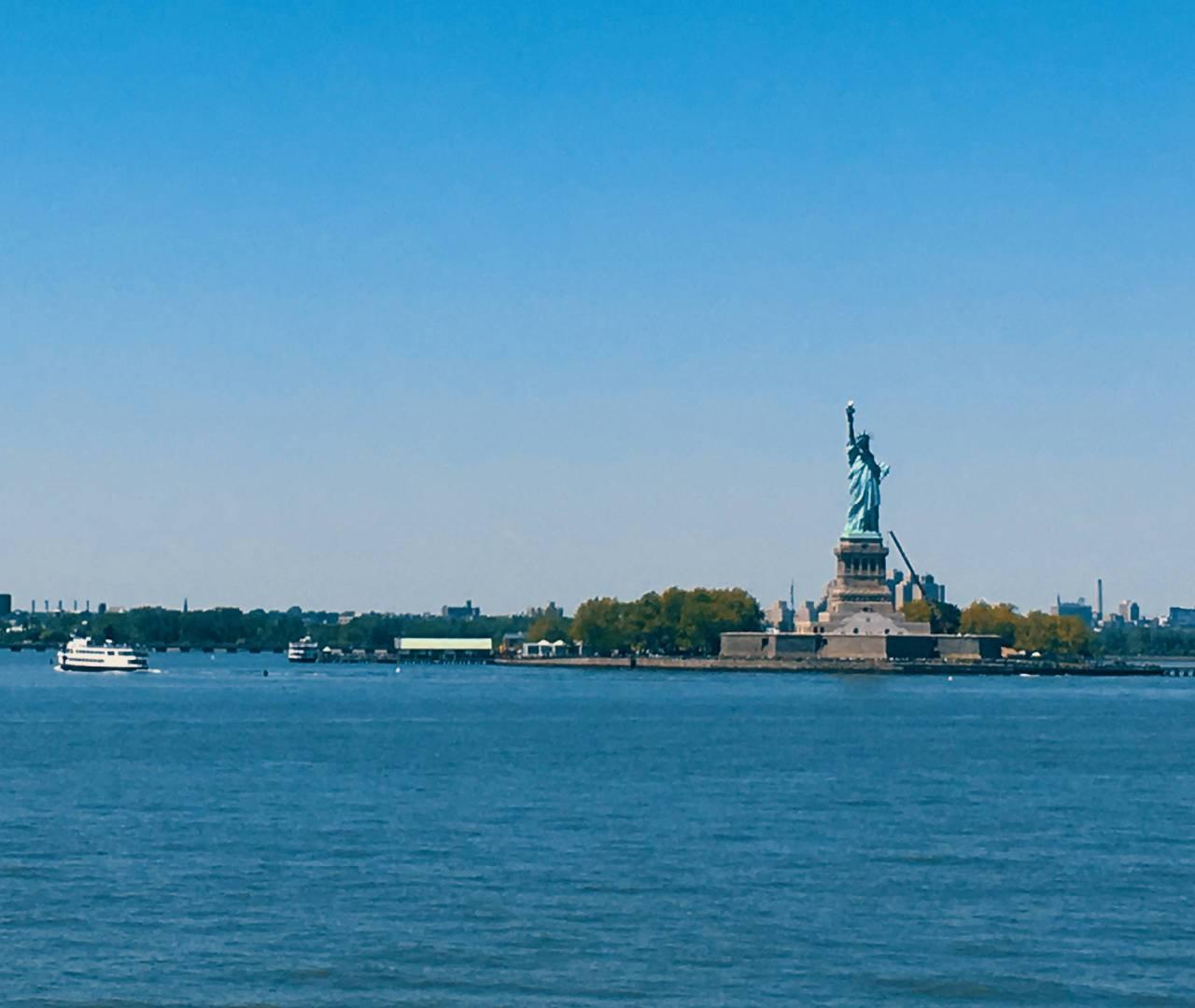 Cosa fare l'ultimo giorno a New York? Andare sull'acqua.