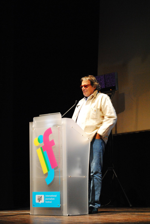Oliviero Toscani a IJF 2010