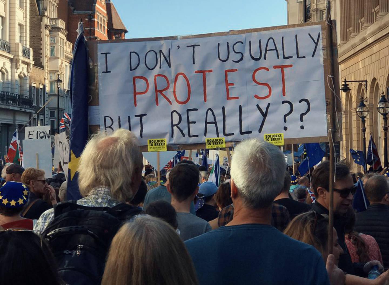 670mila in piazza contro la Brexit