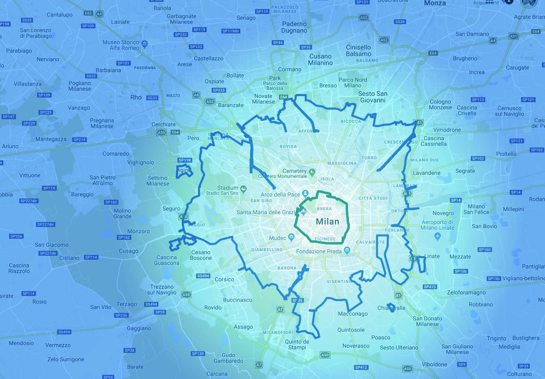 Area B di Milano: la mappa e tutto quello che c'è da sapere