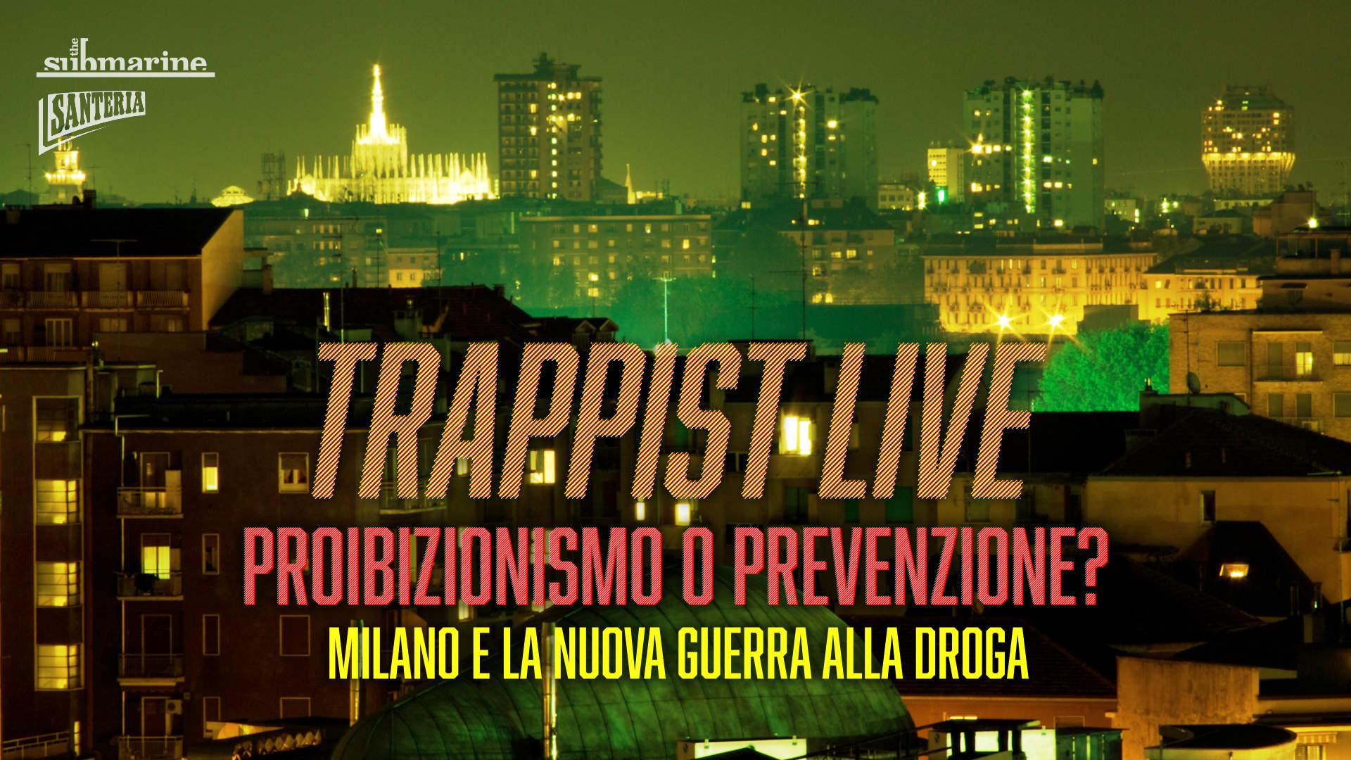 Vieni ad ascoltare <em>TRAPPIST</em> in diretta mercoledì 3 aprile alle 19:30 in Santeria Paladini 8