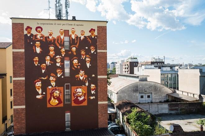 Un tour per il museo a cielo aperto della street art di Milano