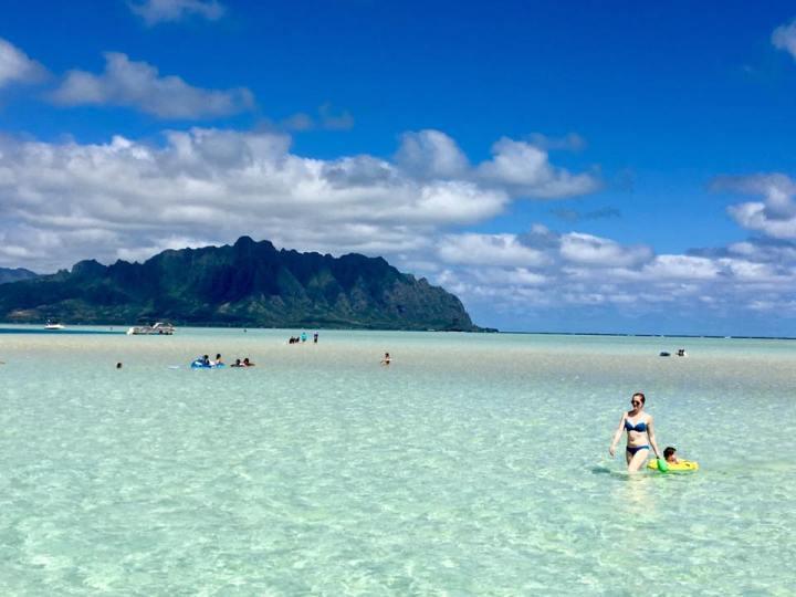 Oahu Must Do: Rent a Pontoon Boat on Kaneohe Bay