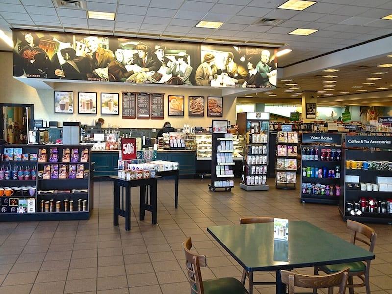 Starbucks Barnes & Noble Licensed Store - Lakewood Towne Center.