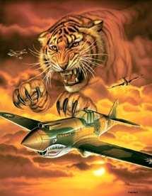 Flying Tiger P-40 III