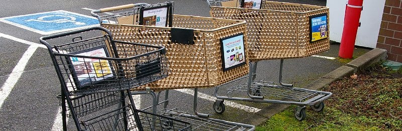 Grocery Cart Theft – Someone Has to Pay!