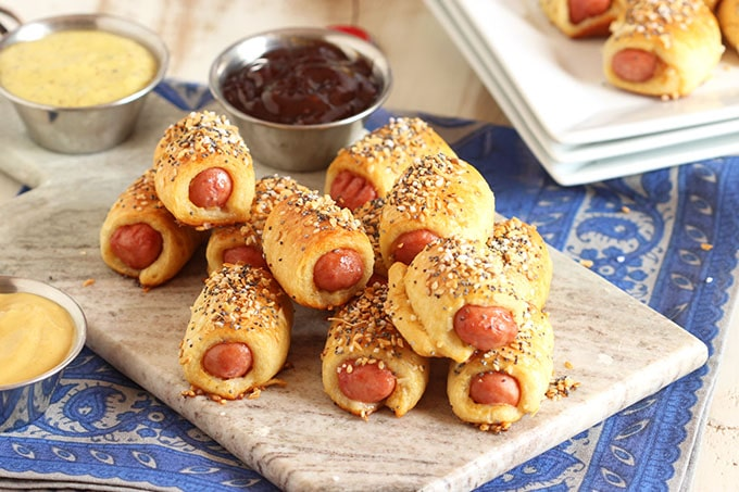 Image result for EVERYTHING PIGS IN A BLANKET