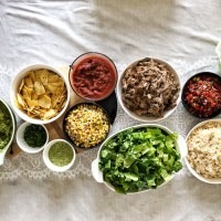 DIY Burrito Bowl Party