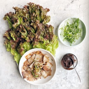 The sauce that makes Korean BBQ so tasty. Mix in one bowl and make simple grilled meat, rice, and lettuce wraps taste bold and exciting!