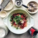 Kimchi Radish in the making