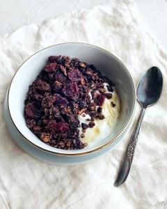 Dark Chocolate Buckwheat Granola