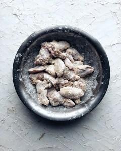 Korean Fried Chicken, potato starch