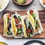 Gochujang Chicken tacos