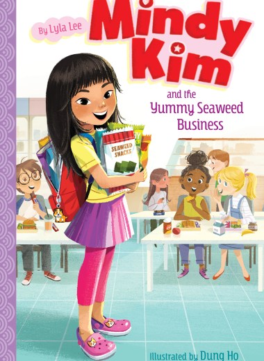 graphic of easy chapter book Mindy Kim and the Yummy Seaweed Business